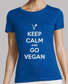 keep calm and andare vegan