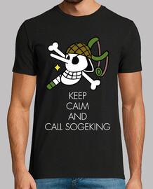 keep calm and appeler sogeking blanc