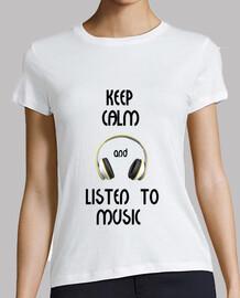 keep calm and ascoltare musica