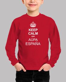 keep calm and aúpa spain