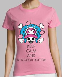Keep Calm and Be a Good Doctor (Noir)