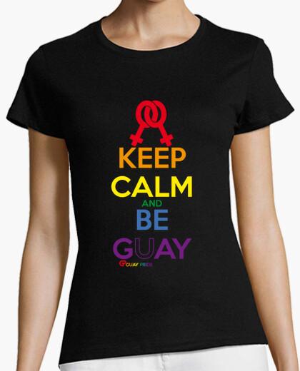 Camiseta Keep Calm and Be Gay