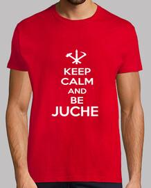 Keep Calm and Be Juche