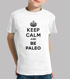 Keep Calm and BE PALEO BLACK