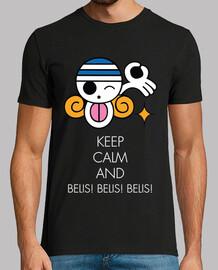 keep calm and belis! belis! belis! bianco