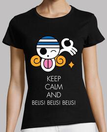 keep calm and belis! belis! belis! blanc