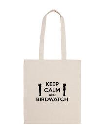 Keep Calm and Birdwatch (Bag)