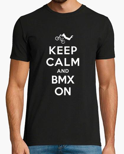 Tee-shirt keep calm and bmx