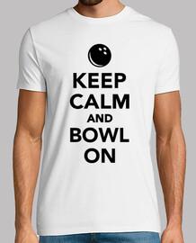Keep calm and bowl on