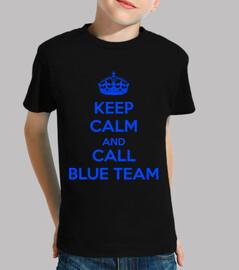 keep calm and call blue team