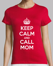 Keep calm and call mom (dark)