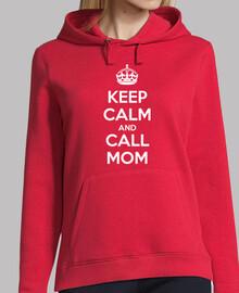 Keep Calm and Call Mom (oscura)