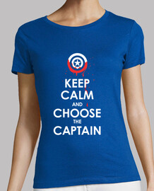 Keep Calm and Choose the Captain