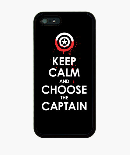 Coque iPhone Keep Calm and Choose the Captain