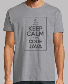 keep calm and cod e java