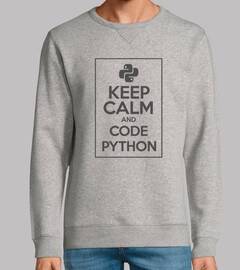 Keep Calm And Code Python