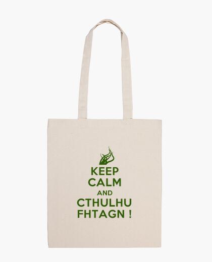 Bolsa Keep Calm and Cthulhu Fhtagn!