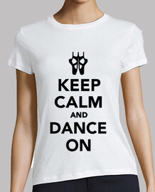 Keep Calm and Dance On Ballet