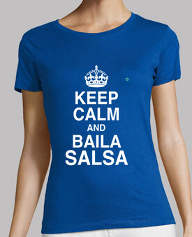 keep calm and danse salsa