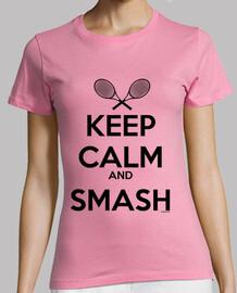 keep calm and défonce femme