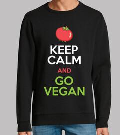 keep calm and devenez végétalien
