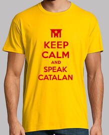 keep calm and di parlare catalano