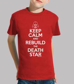 keep calm and di ricostruire la morte star