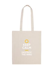 keep calm and distruggere l'anello