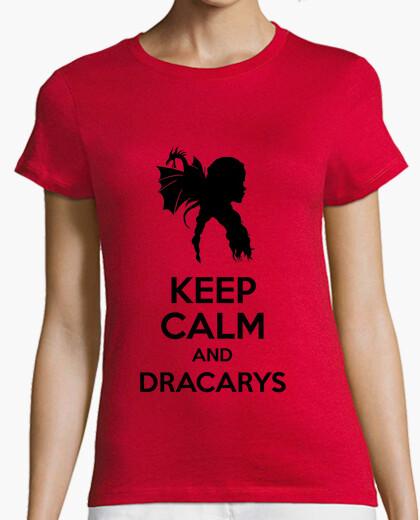 Camiseta Keep calm and Dracarys