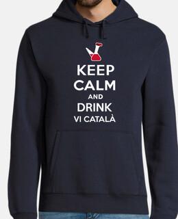 Keep Calm and drink vi català