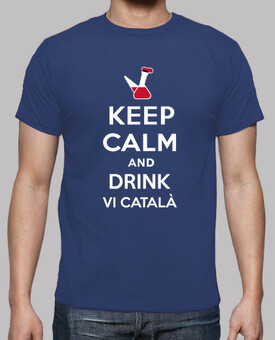 keep calm and drink vi catalan