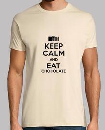 keep calm and eat du chocolat
