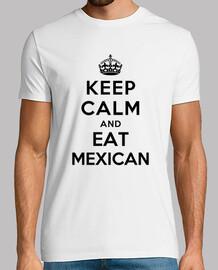 keep calm and eat mexicain
