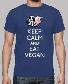 keep calm and eat vegan