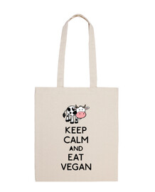 KEEP CALM AND EAT VEGAN