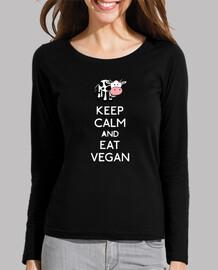 keep calm and eat végétalien