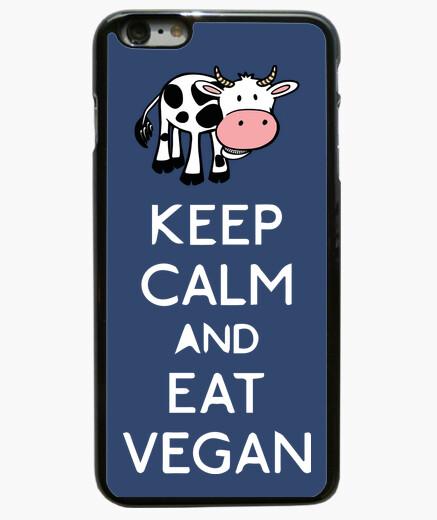 Coque Iphone 6 Plus / 6S Plus keep calm and eat végétalien