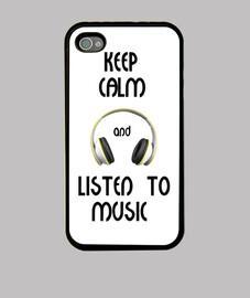 keep calm and écouter de la musique