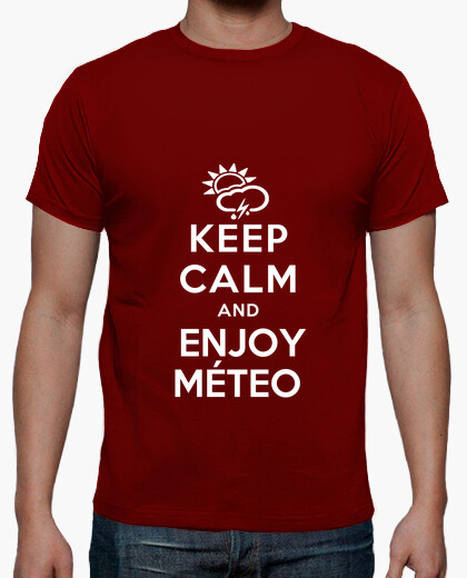 Camiseta Keep calm and enjoy meteo