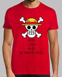 keep calm and essere pirata king nero