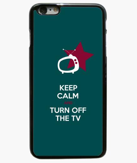 Coque Iphone 6 Plus / 6S Plus keep calm and éteindre le téléviseur