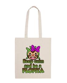keep calm and être un plopita (sac)