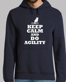 keep calm and fais agilité