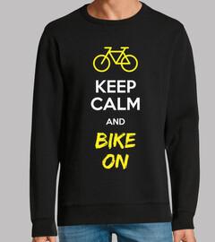 keep calm and fais du vélo