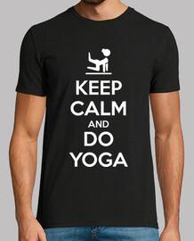 keep calm and fais du yoga