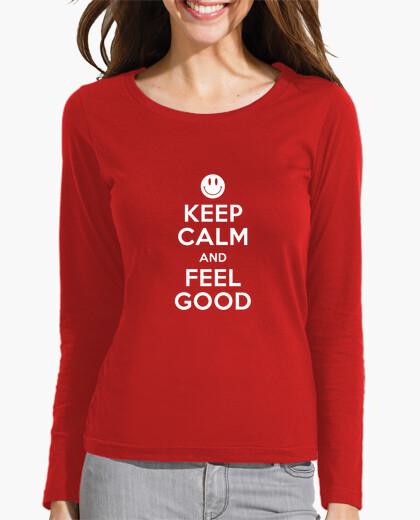 Tee-shirt Keep Calm and Feel Good