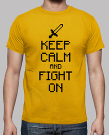 Keep calm and fight on 1c