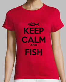 keep calm and fish femme