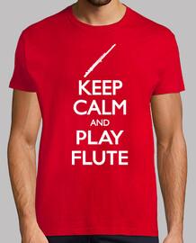 keep calm and flauto