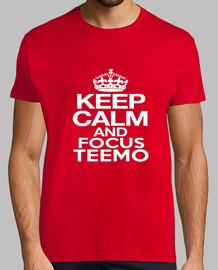 keep calm and focus teemo